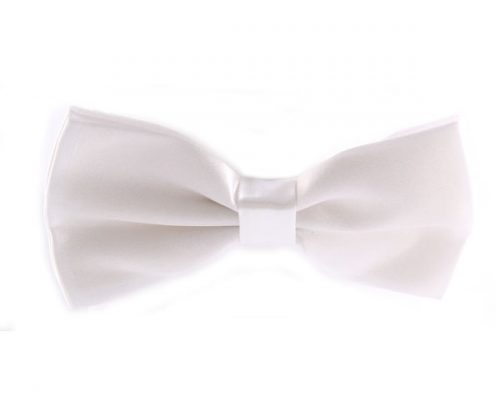 White Kids Bow Tie