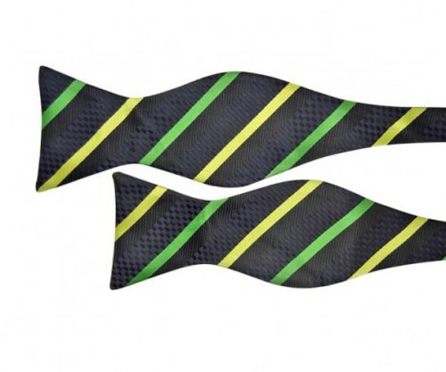 Green and Gold Aussie Bow Tie