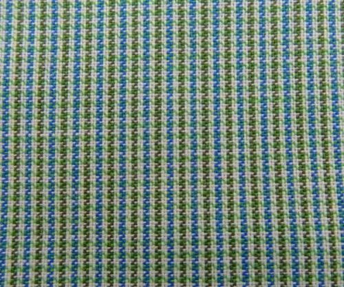 Green Check Cotton Pocket Square