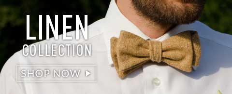 Cotton Linene Bow Ties