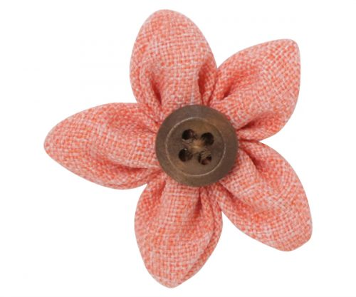 Apricot Flower Lapel Pin